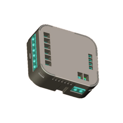 Dhs Z Wave Sgl Switch Inwall