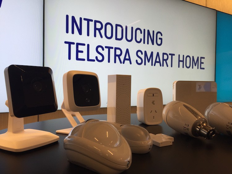 Telstra smart homes